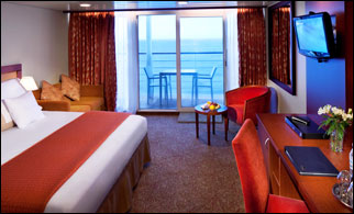 images of living room with red sofa cushions online chennai azamara quest cabin facts - staterooms and suites by ...