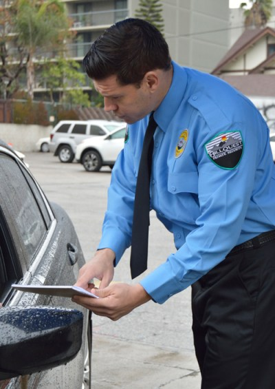 Parking Services Security Los Angeles