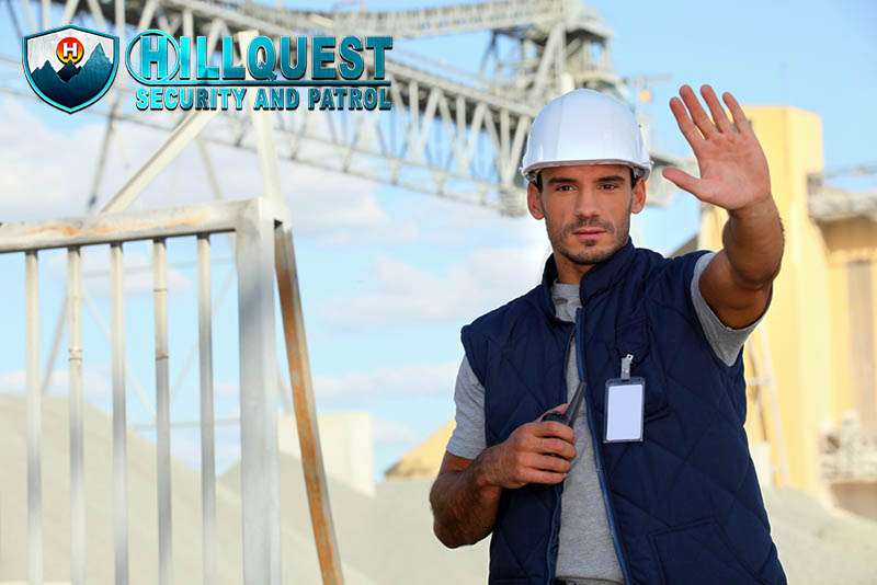 professional construction security in Los Angeles