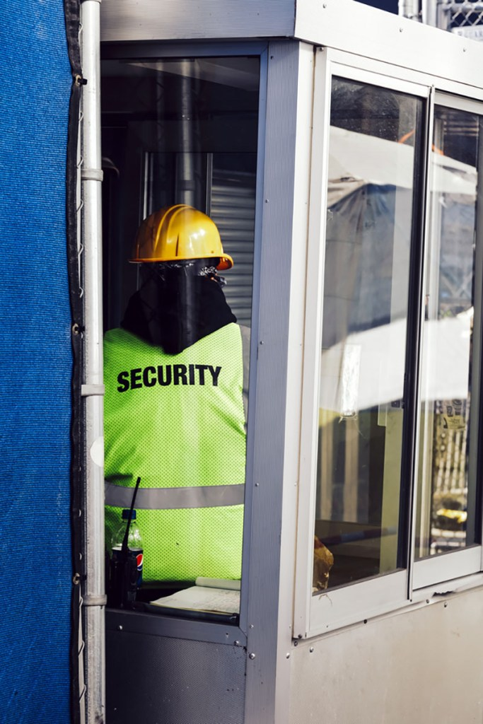 Construction security in Los Angeles