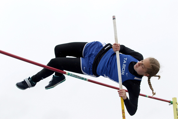 Marah Franz placed second in pole vault.