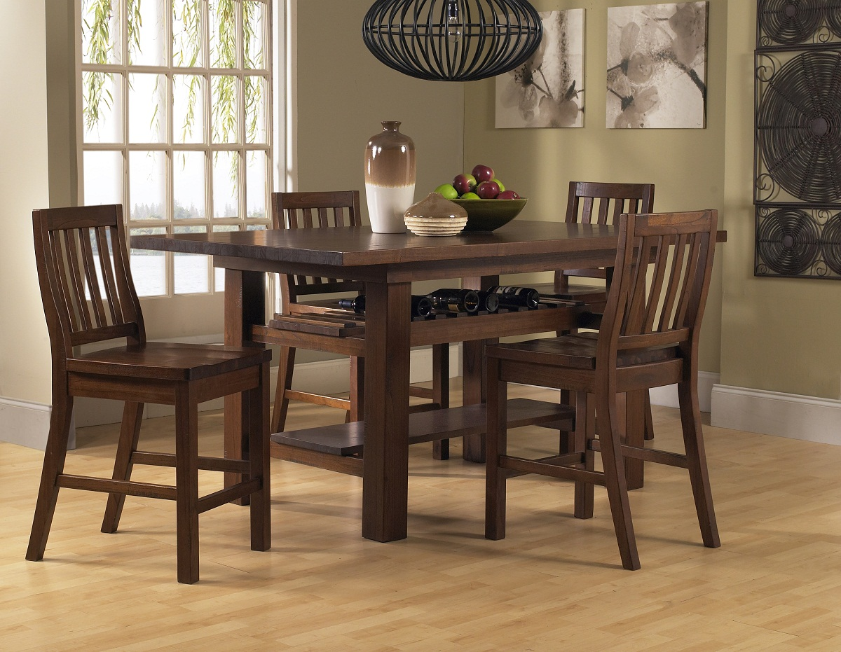 tall table and chairs golden technology lift chair hillsdale outback 5 piece counter height dining set