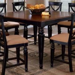 Tall Kitchen Tables And Chairs Orange Living Room Hillsdale Northern Heights Counter Height Dining Table