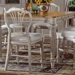 Antique White Chairs Toddler Chair Toys R Us Hillsdale Wilshire Counter Height Gathering Table