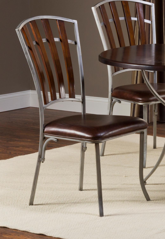 dark walnut dining chairs outdoor lounge costco hillsdale sarasota 5006 802