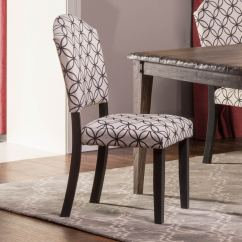 Distressed Black Dining Chairs Fabric Club Hillsdale Lorient Parsons Chair