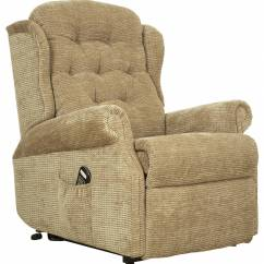 Celebrity Chair Accessories Best Folding Boat Deck Chairs Woburn Compact Single Motor Recliner Fabric