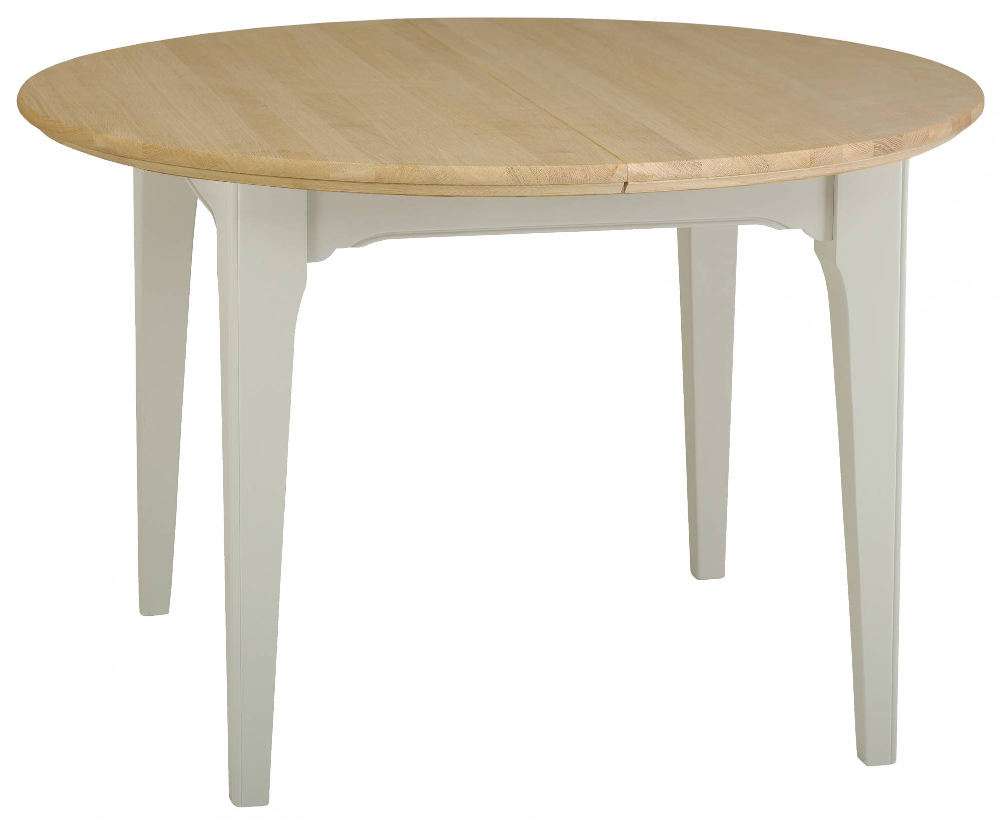 New England Round Extending Dining Table