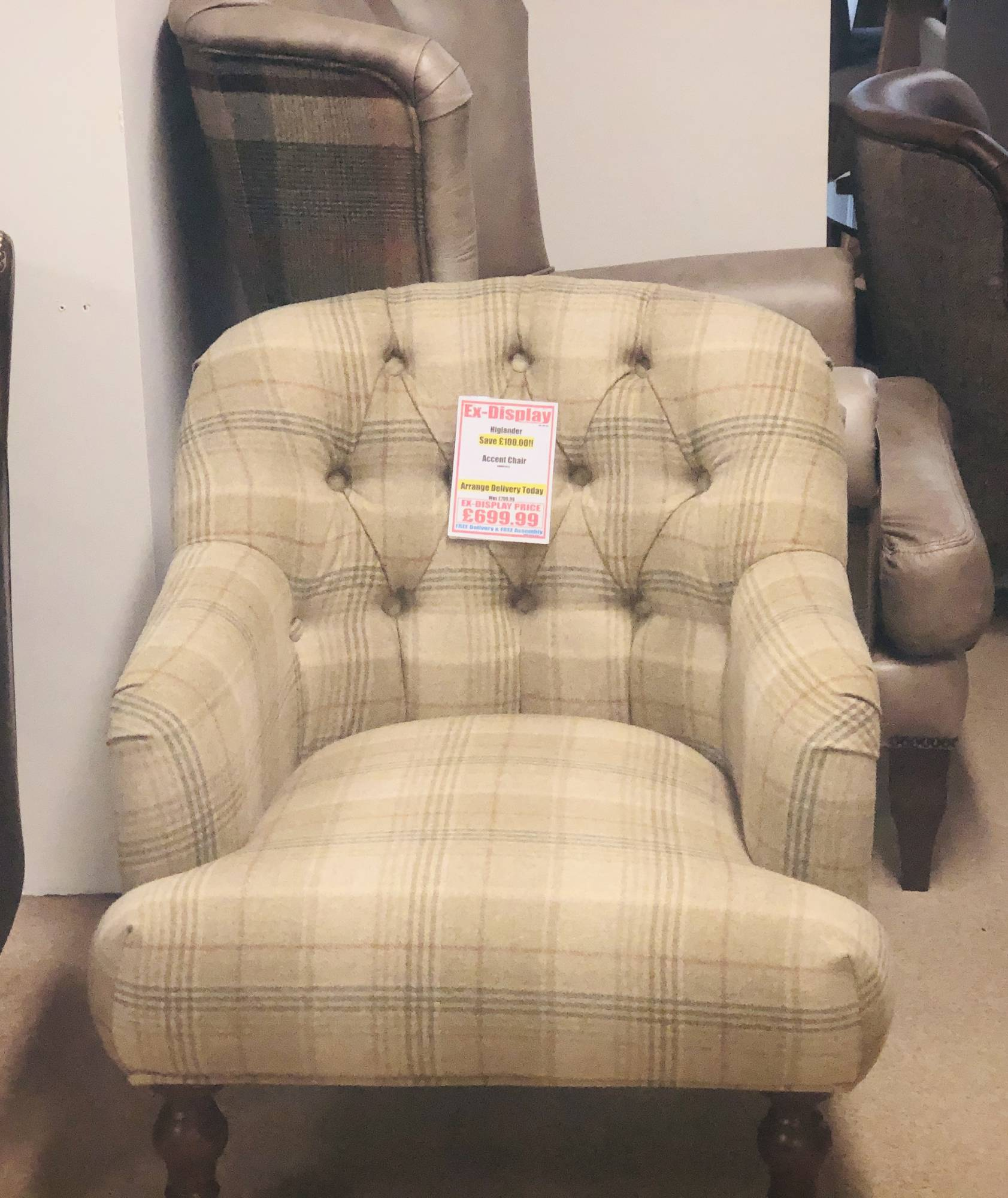 Highlander Accent Chair Clearance