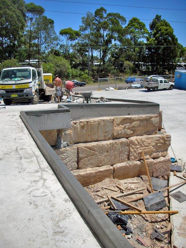concrete curbing kerbing