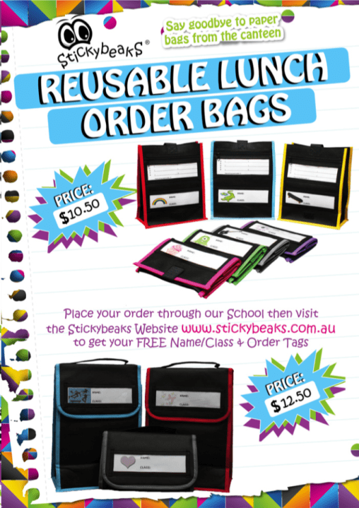 lunch order bags