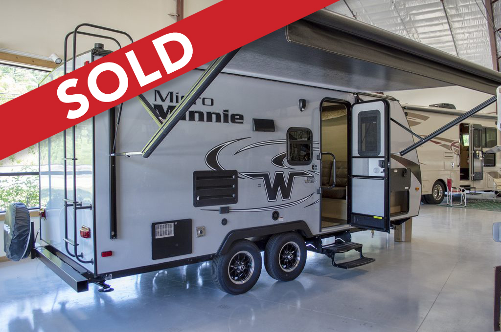 - SOLD! 2019 Micro Minnie 2108DS - Stone Interior/Murphy Bed Image