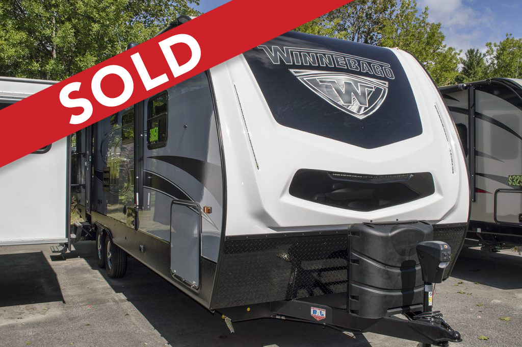 - SOLD! 2018 Winnebago Minnie Plus 26RBSS **model year clearance** Image