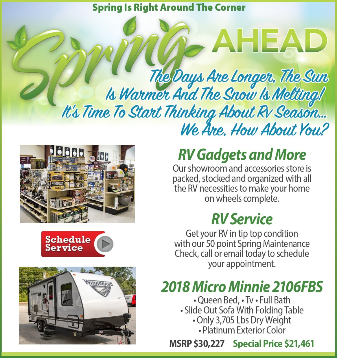 Spring Ahead 2020
