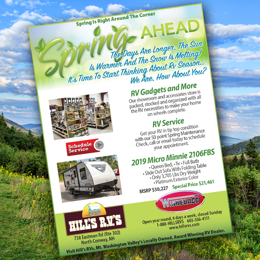 Spring Ahead ad