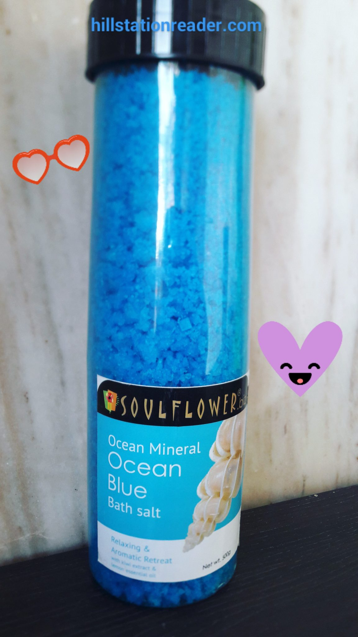 Review of Ocean Bath Salt by Soulflower