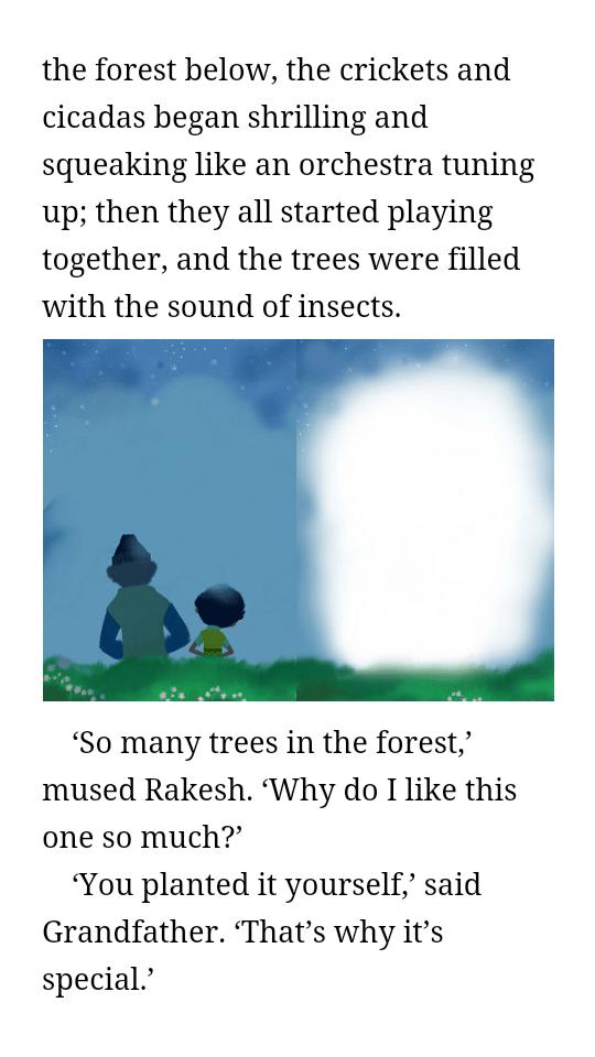 The cherry tree by Ruskin Bond