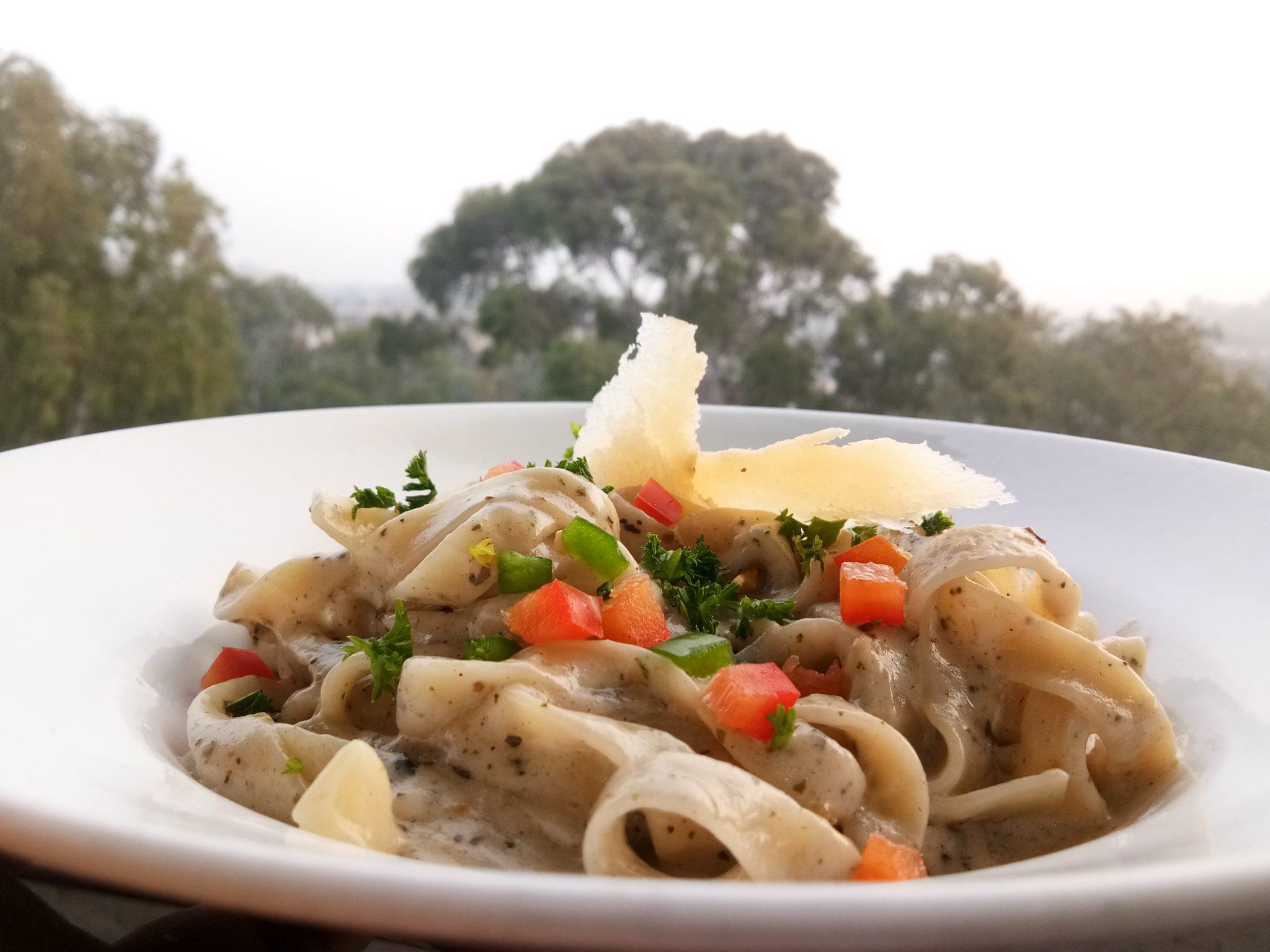 Recipe of tagliatelle pasta