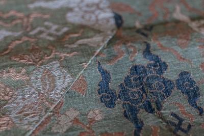 Hill-Stead Decorative Linen Kesa cloth closeup 1