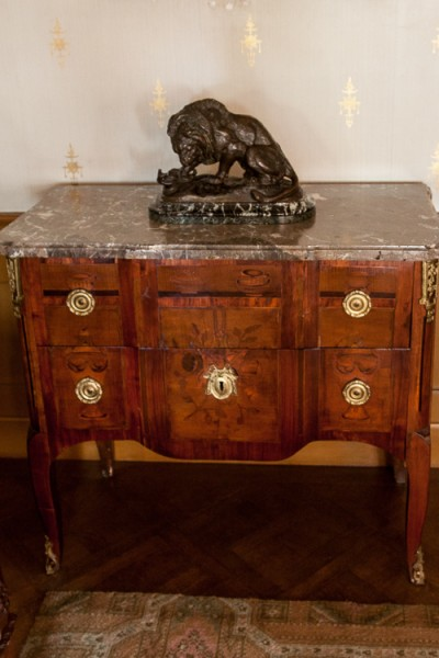 Hill-Stead Furniture French Commode Flora 2