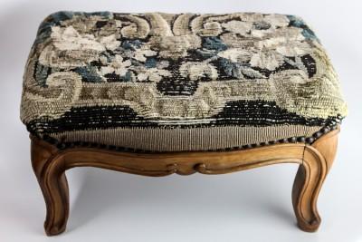 Hill-Stead Needlework Footstool