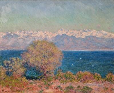 View de Cap d'Antibes, Claude Monet