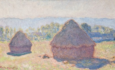 Grainstacks by Monet