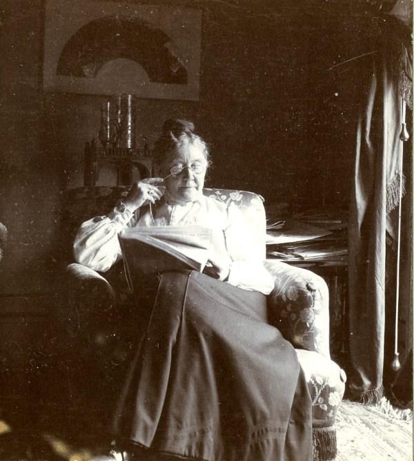 Mary Cassatt Photograph of Her