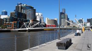 Yarra River en Melbourne