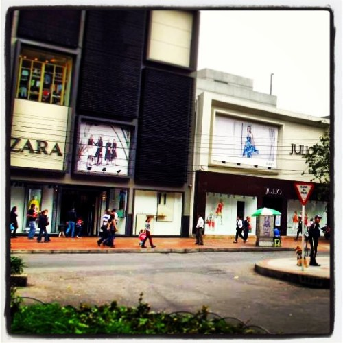 Zona T o Zona Rosa, Bogotá