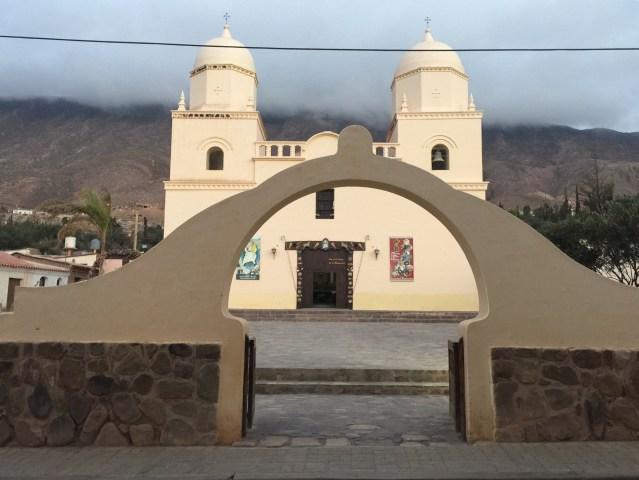 La iglesia de Tilcara