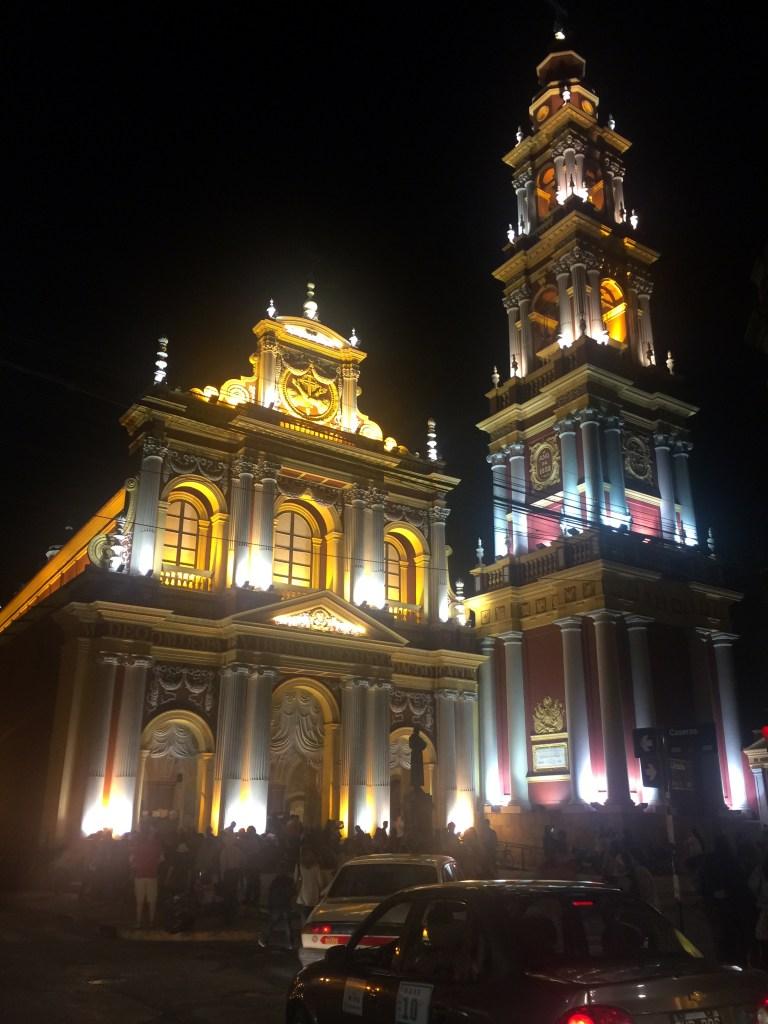 Iglesia San Francisco, Salta.