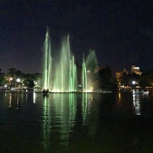 Fuentes danzantes, Parque Independencia.