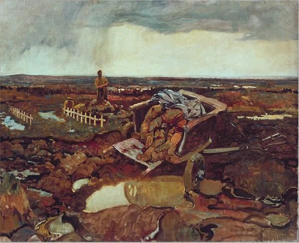 Frederick Varley Paintings War