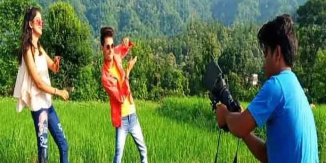 meri -bajarya-video-song-starts-shooting-in-kotdwar-photos-surfaced