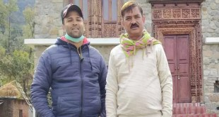 vivek-gave-voice-in-a-new-style-to-rudi-bou-a-popular-song-by-folk-singer-anil-bisht