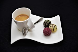 Coffee with sweets