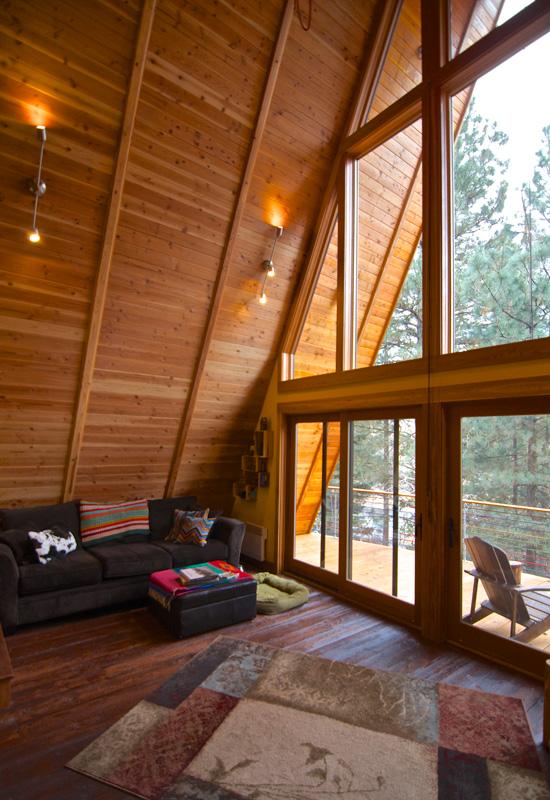 Hilton Construction Retro A Frame Cabin