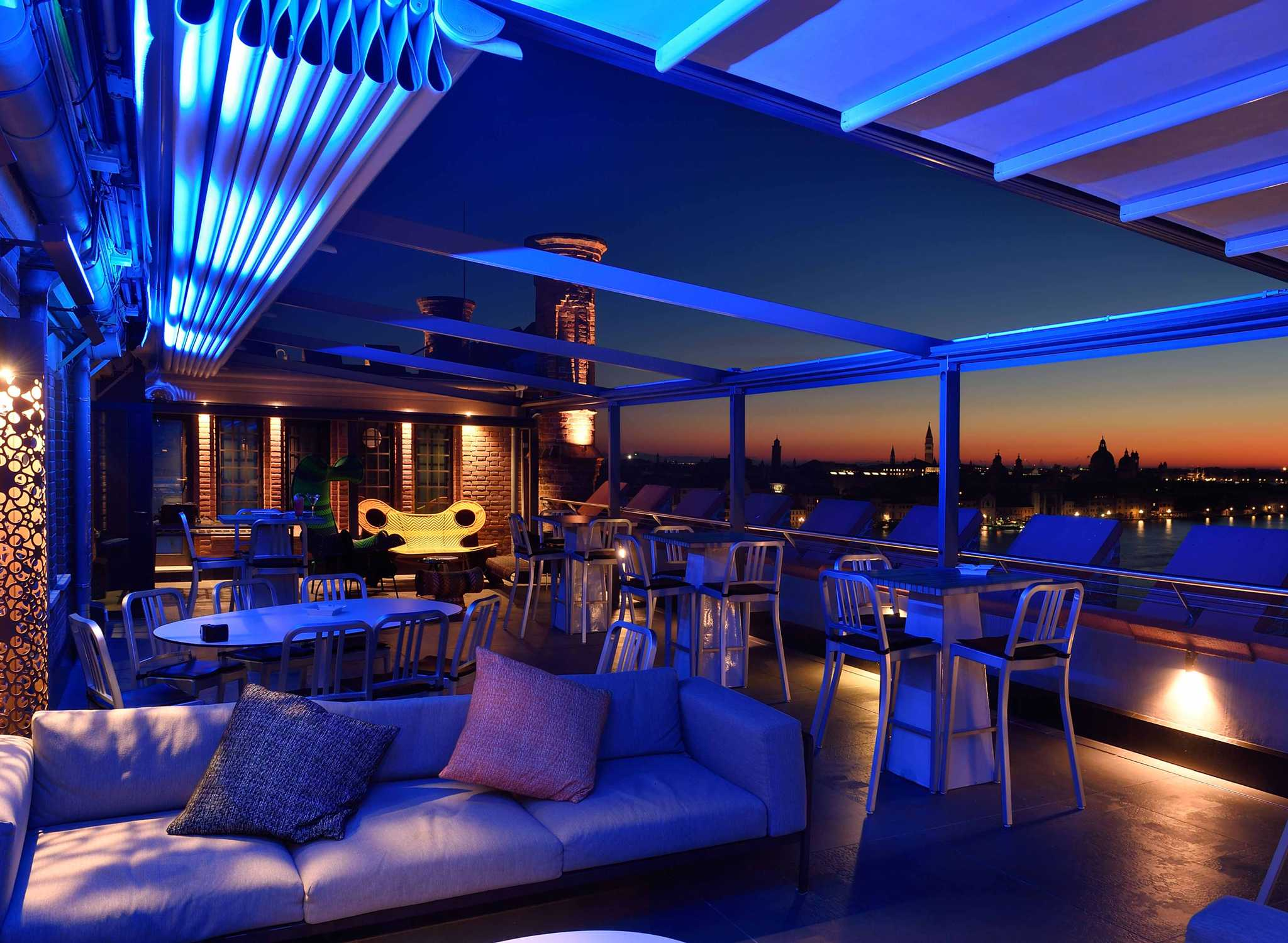 Terrazza Hotel Hilton Milano