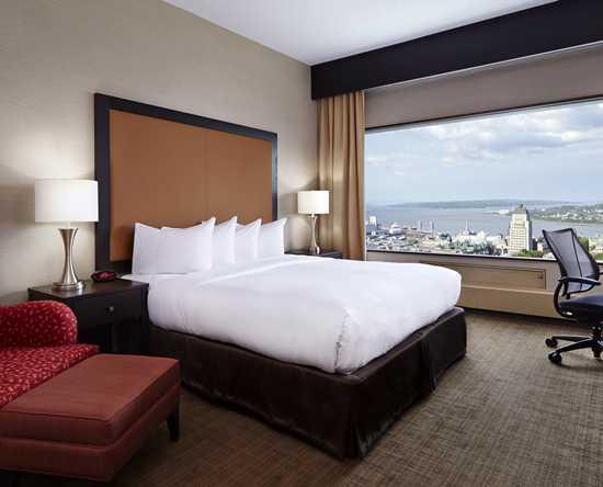 Htel Hilton Qubec  Chambres et suites