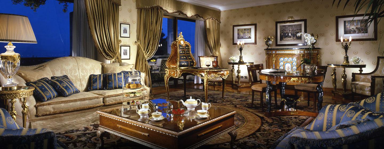 Hotel a 5 stelle a Roma  Rome Cavalieri Waldorf Astoria