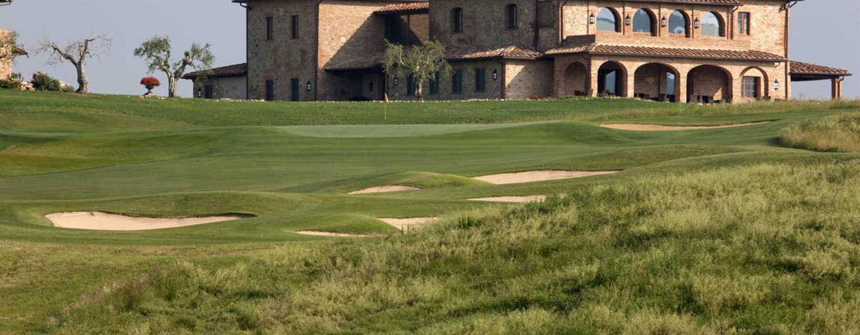 Resort con campo da golf e spa nei pressi di Siena nel cuore della Toscana