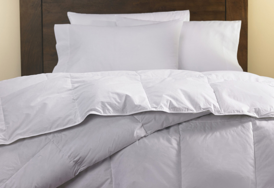 Down Duvet Comforter  Hilton to Home Hotel Collection