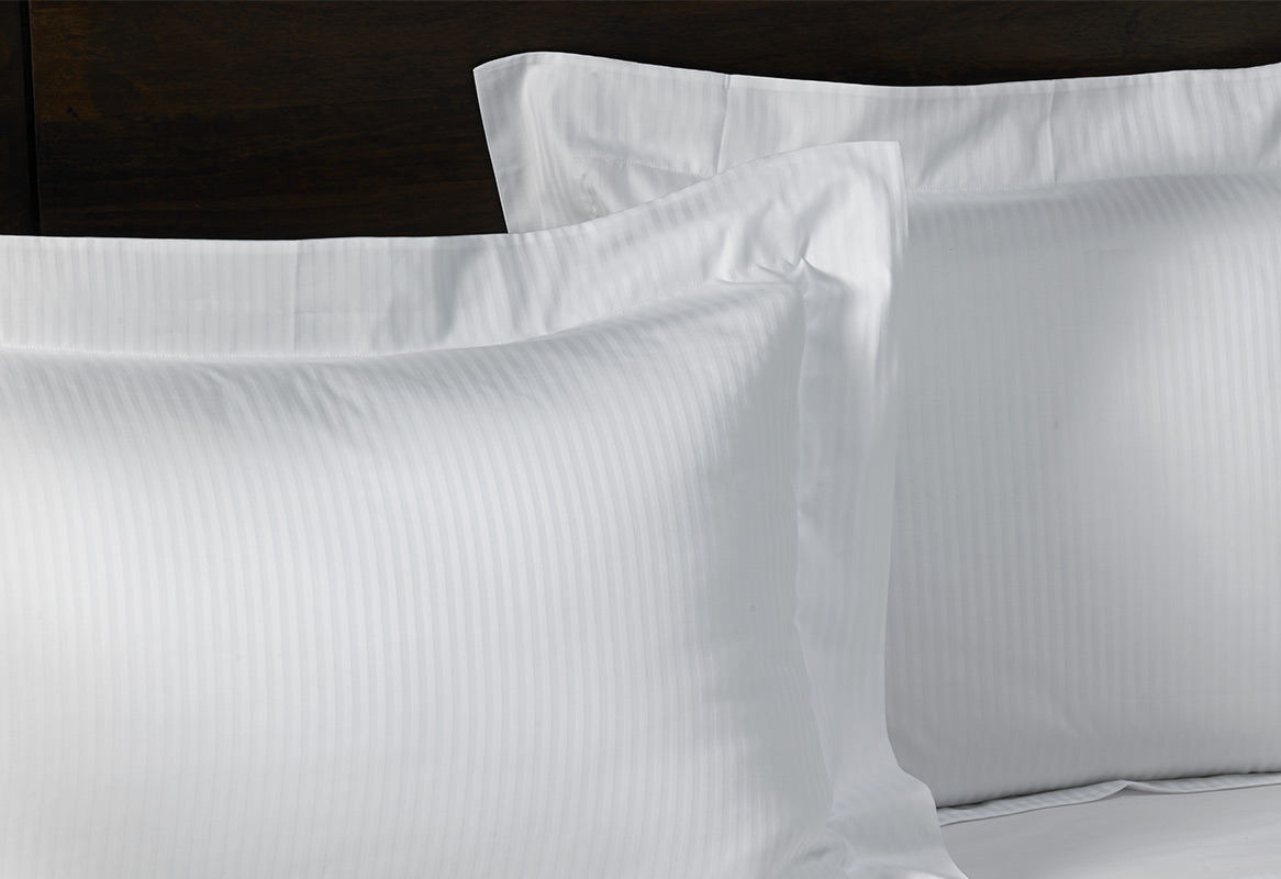 Cotton Stripe Pillow Shams