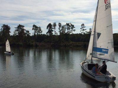 Sie segeln wieder …