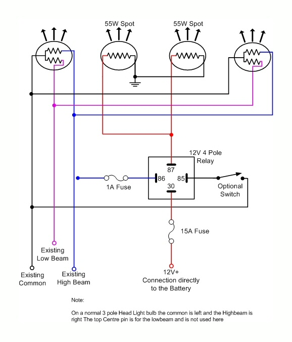 driving light wiring diagram toyota hilux  wiring diagrams