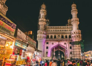 Charminar_at_Night