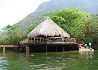 eco-tourism thatched house