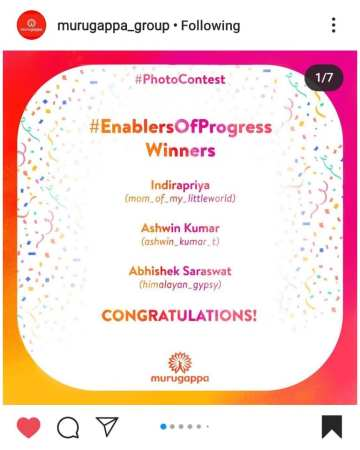 Winner: Enablers of Progress