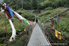 This is our last bridge before we join up with the road and catching a jeep back to Kathmandu.